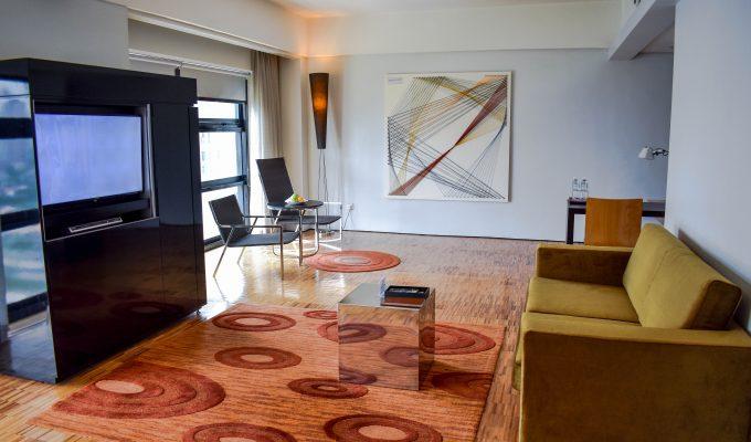 Junior suite at Hotel Maya, Kuala Lumpur, Malaysia