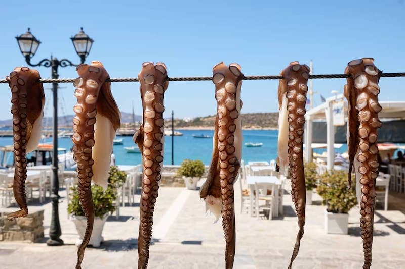 Aliki Restaurant - Paros
