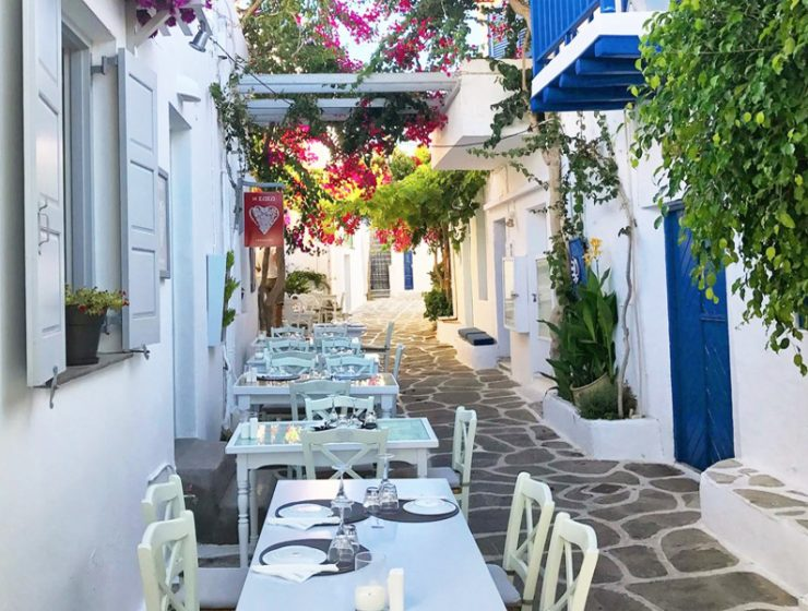 Top Restaurants in Paros