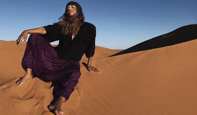 Halle Berry Sahara Desert