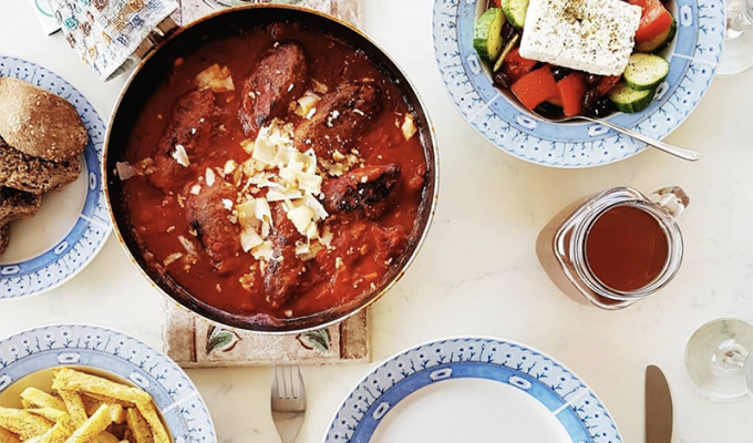 Naxos cuisine