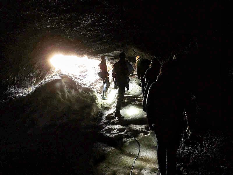 Lava cave Silfra