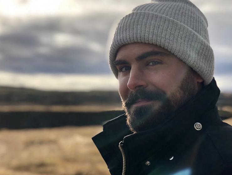 Zac Efron Iceland