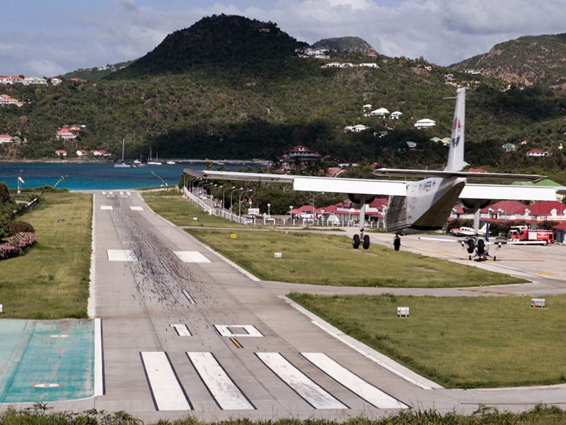 St Barts airport