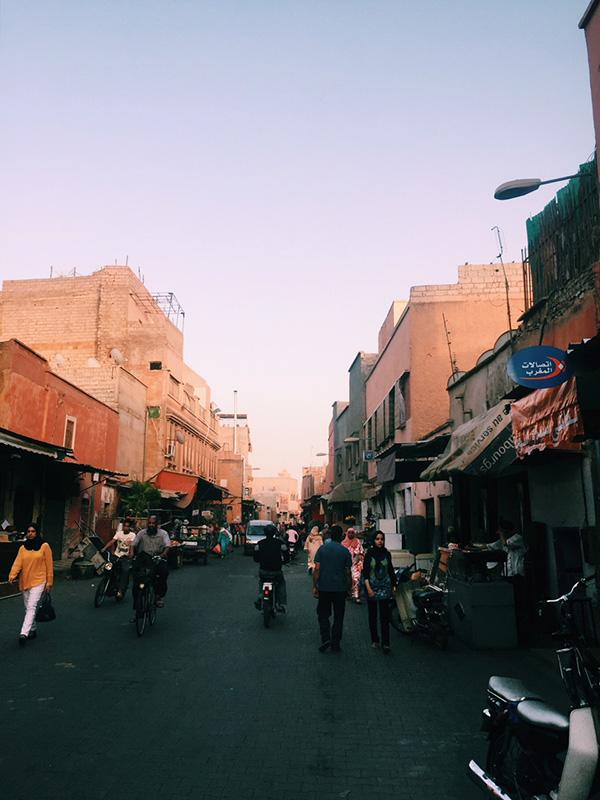 Marrakech solo traveler