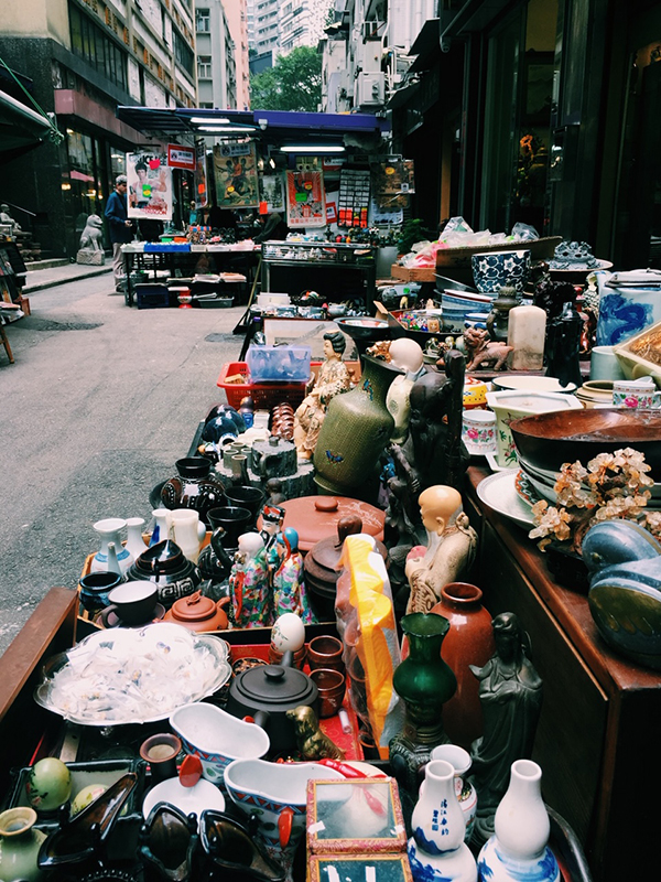 Cat Street, Sheung Wan, Hong Kong