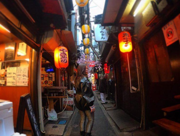 Exploring Tokyo.