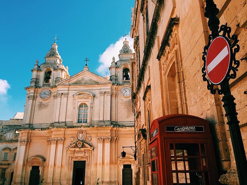 Mdina Cathedral, Malta.