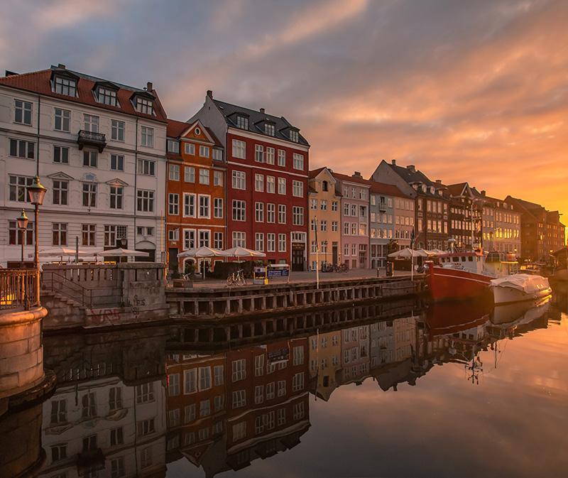 Nyhavn, Copenhagen. Lucas Koblua
