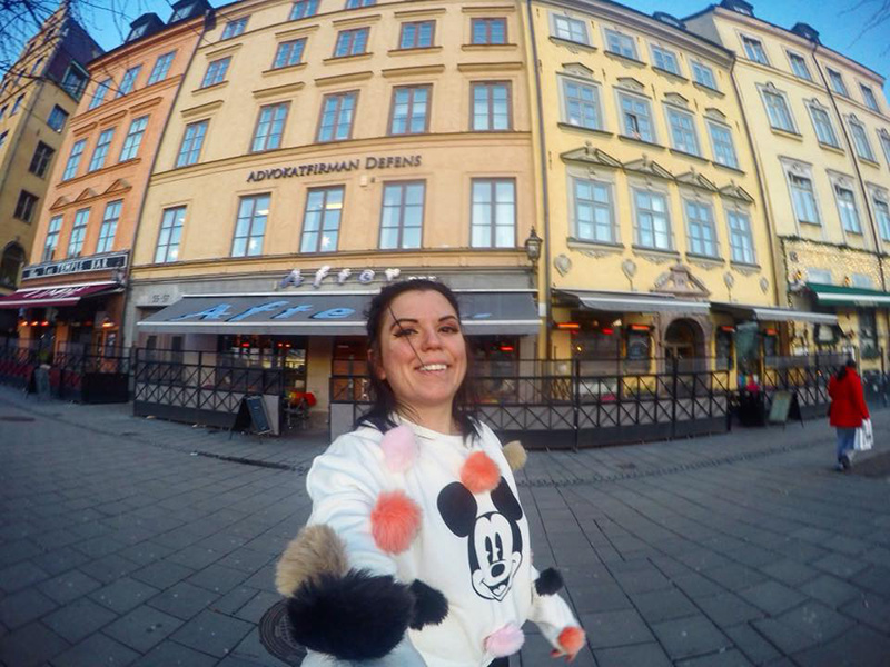 Exploring Stockholm.