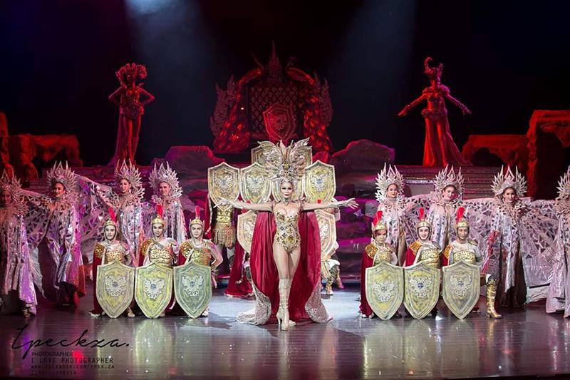 Show At Colosseum Pattaya.