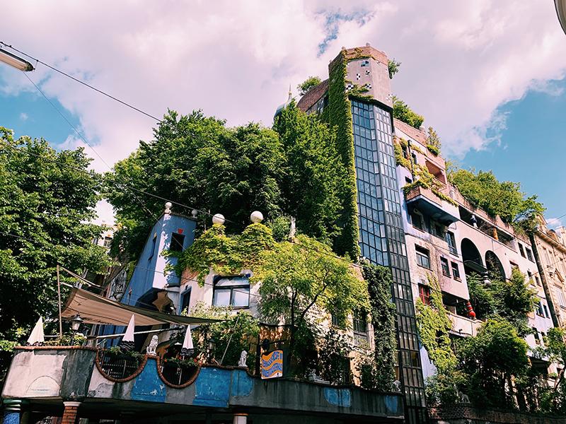 Hundertwasser House.