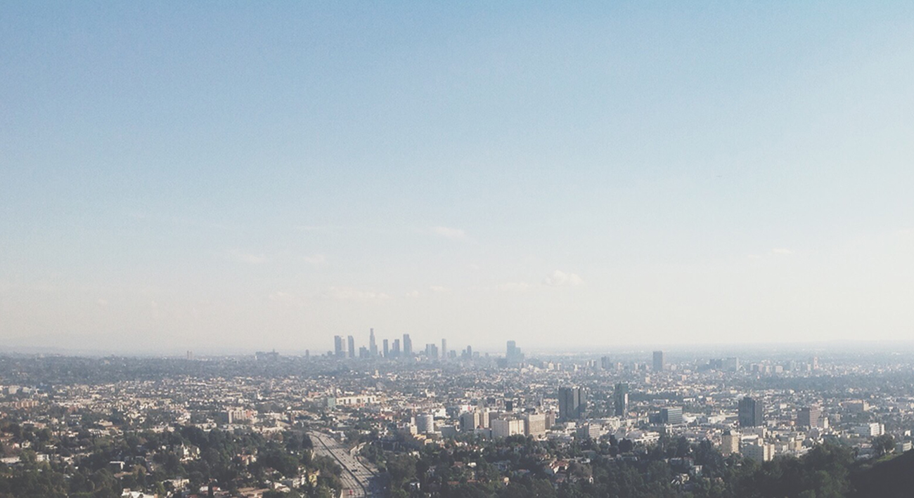Los Angeles Skyline.