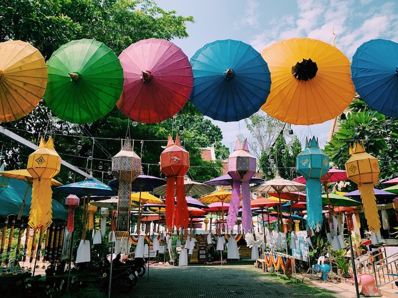 Umbrella Festival, Chiang Mai