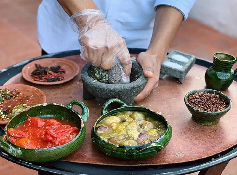 Casa Oxaca El Restaurant. Oaxaca de Juarez, Mexico.