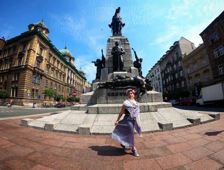 Dancing Through Krakow. Photo: Kaitlyn Rosati