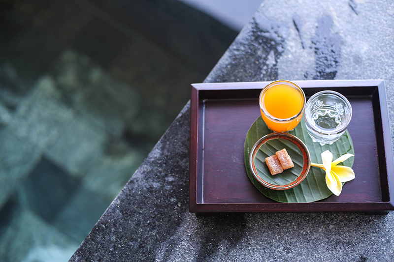 Rainforest Spa Experience Alila Ubud.