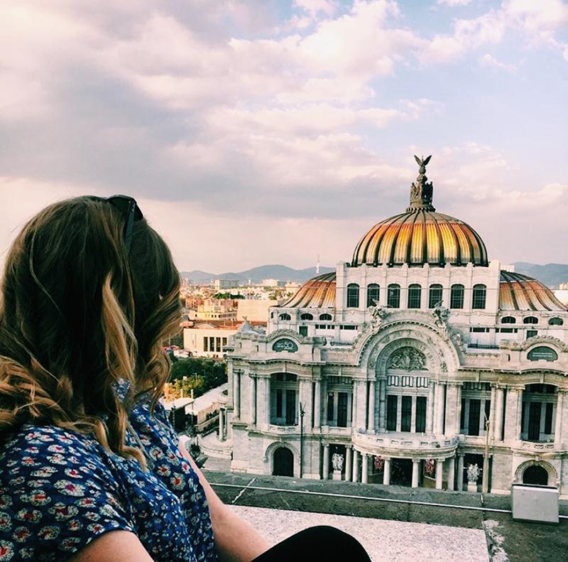 Palacio de Bellas Artes. Mexico City, Mexico