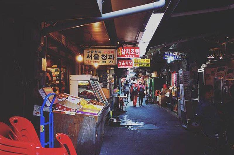 남대문시장 Namdaemun Global Market 韓国南大門市場