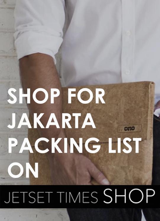 Jakarta Packing List