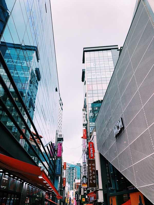 Myeongdong, Seoul.