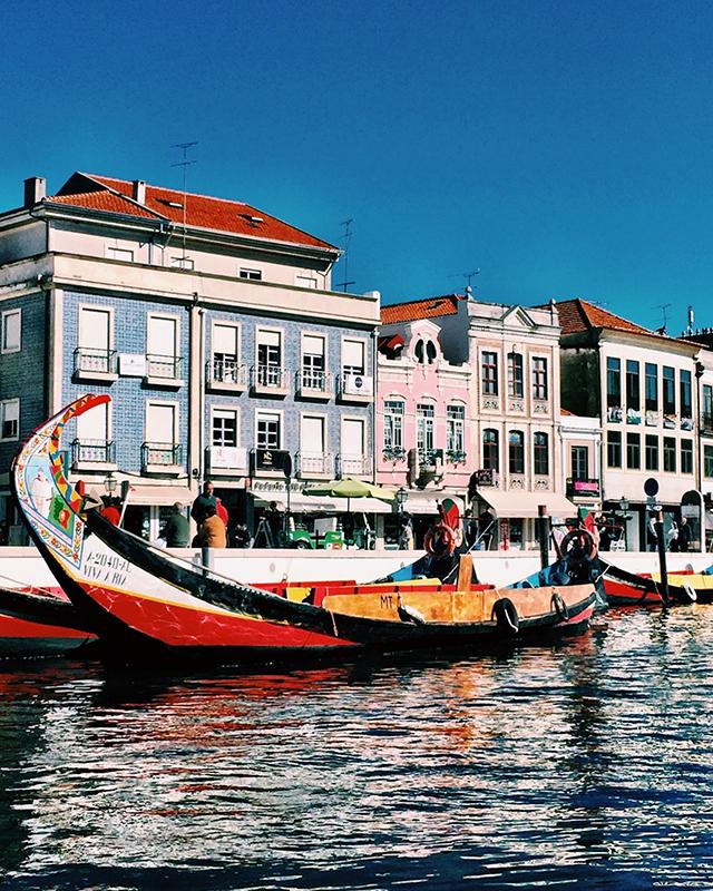 Aveiro, Portugal.