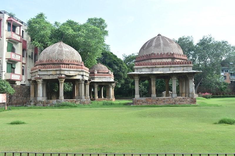 Hauz Khas Village, New Delhi, India. UNSPLASH Ravi Bhardwaj