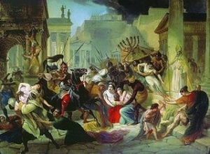 Another race called the Visigoths who ruled Spain attacked the Suevi in Portugal. By 585 the Visigoths had conquered the Suevi and the Germanic invaders became the new upper class.