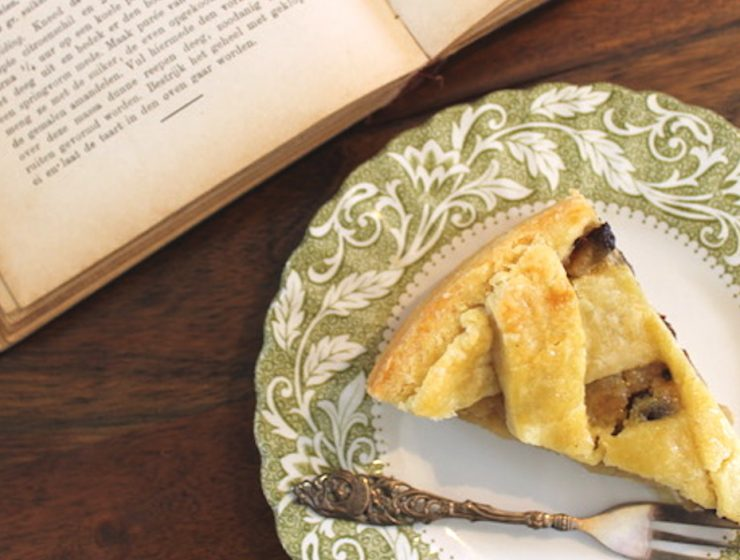 Dutch Cookbook apple tart