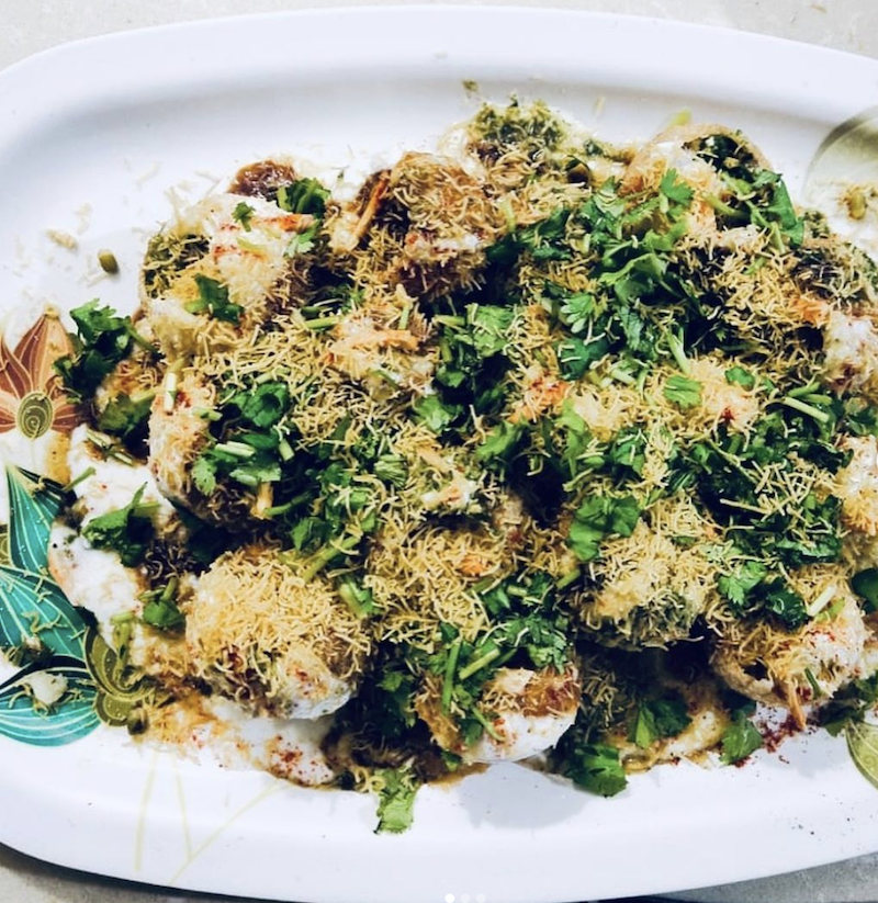 Chaat indian food