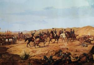 Batalla de Ayacucho by Martín Tovar y Tovar (1827 - 1902)