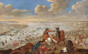 Battle of Riga, the first major battle of the Swedish invasion of Poland, 1701