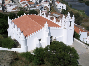 Mértola's former mosque was transformed into a church in 1238.