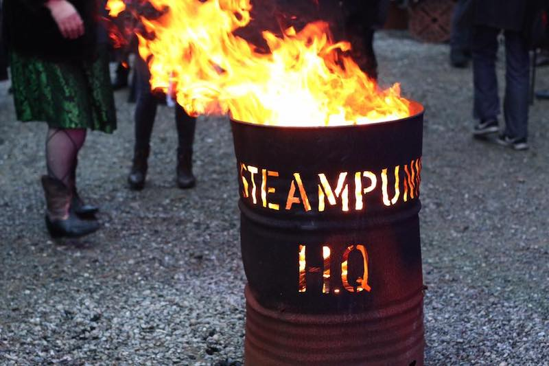 Steampunk HQ workshop