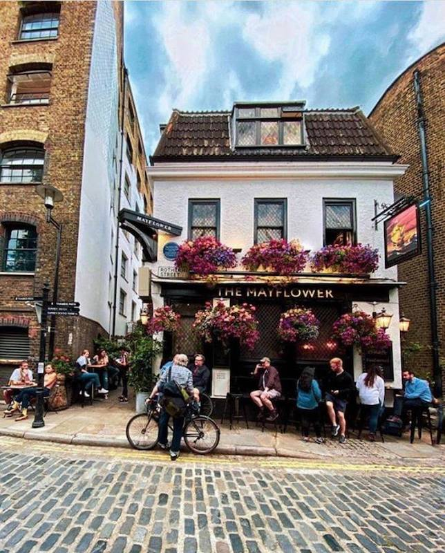 Mayflower Pubs in London