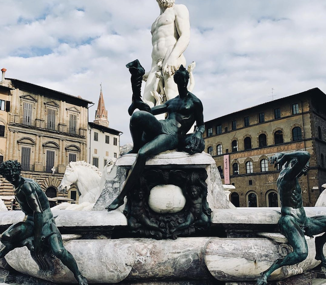 Neptune Fountain, Florence.