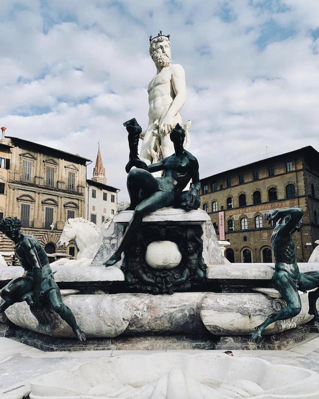 Neptune Fountain, Florence. Piazza della Signoria