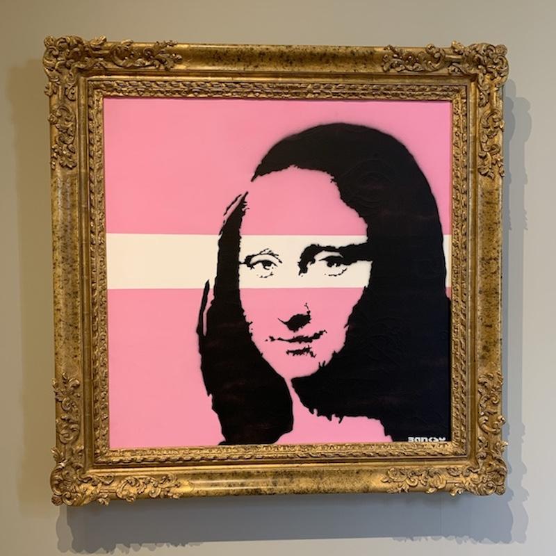 Banksy: Mona Lisa Pink