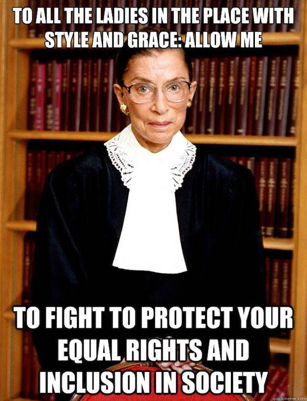 Equal rights.
