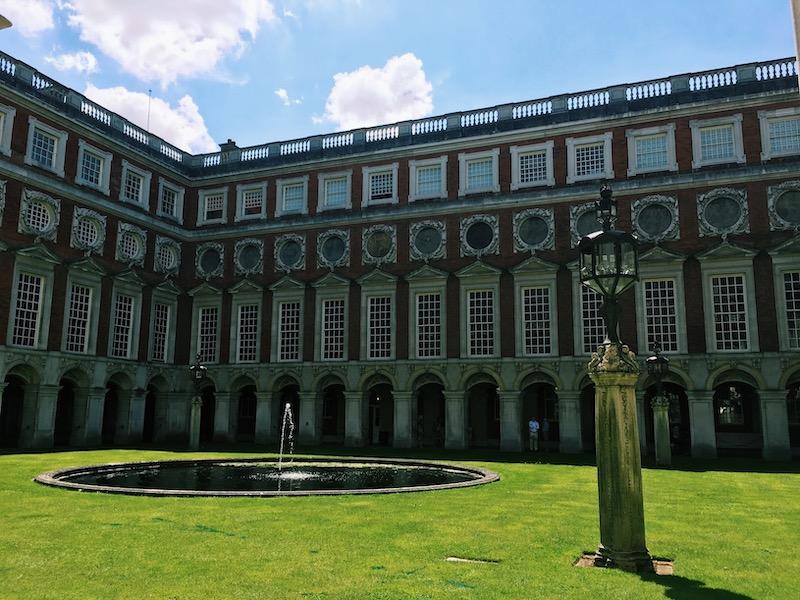 Hampton Court Palace exterior