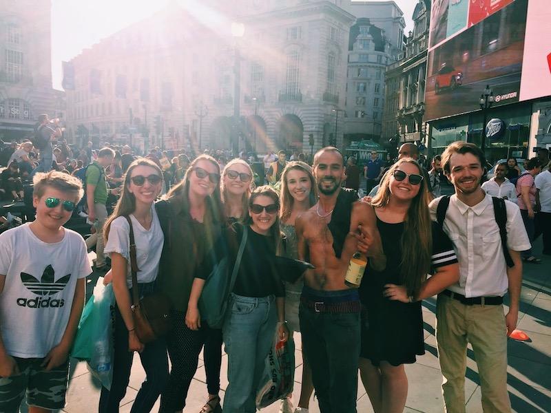 Piccadilly Circus antics