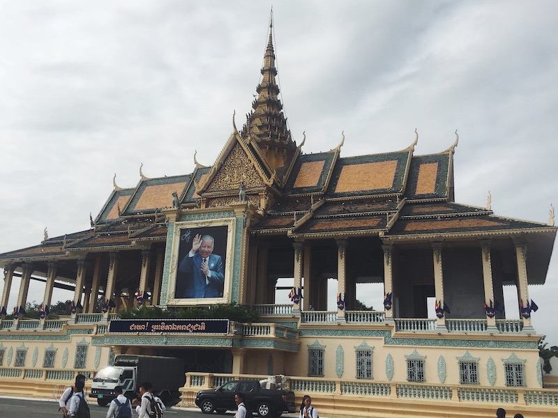 Royal Palace Outside