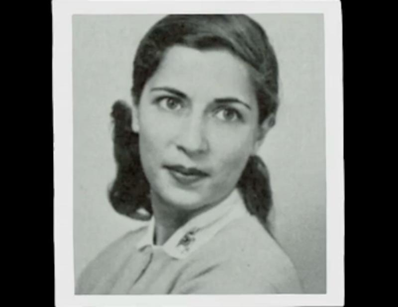 Young Ruth Bader Ginsburg