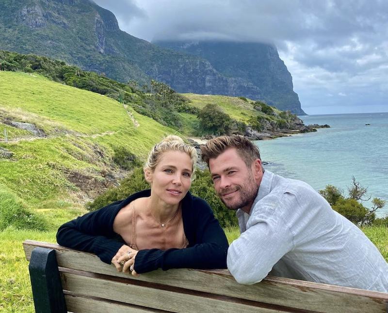 Australia. INSTAGRAM Chris Hemsworth