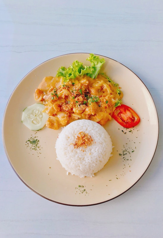 Indonesian vegan food