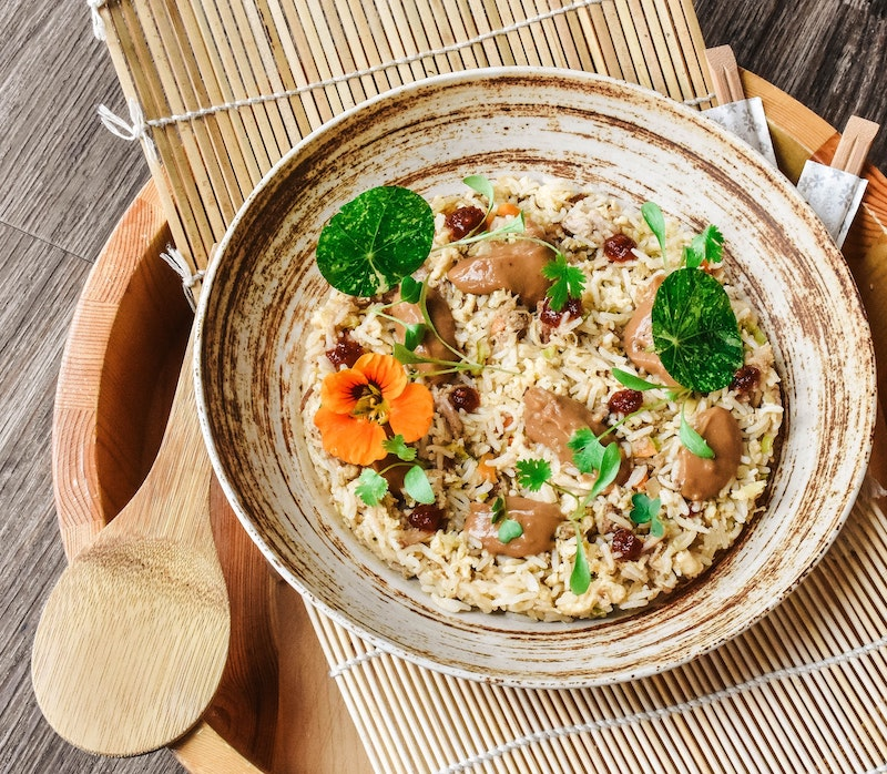 Malaysian vegan food