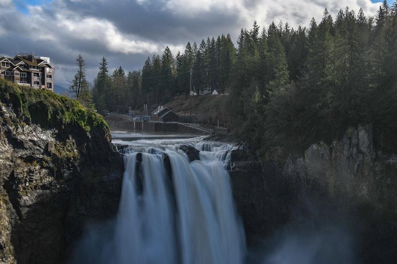The Snoqualmie Falls