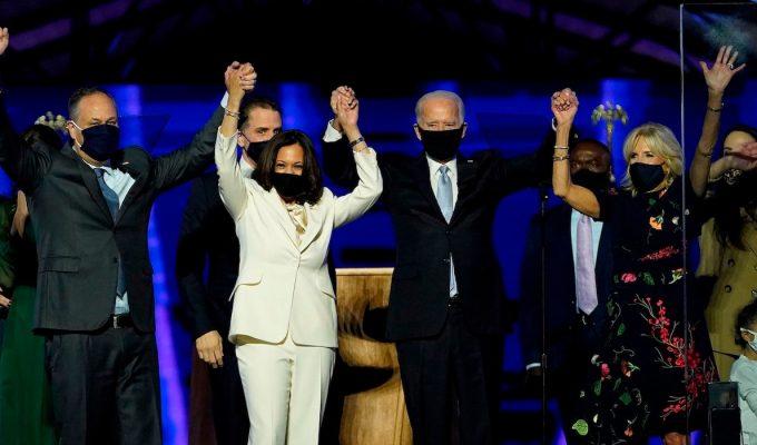 Biden Harris win
