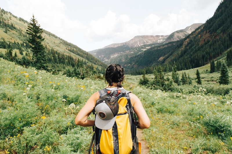 backpacking. off the beaten path.