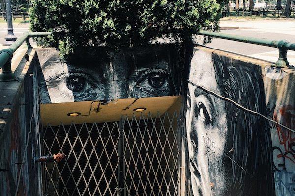 Graffiti Mural in Dupont